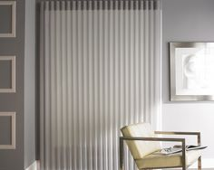 Reflecting a sophisticated style, Alustra® Luminette® Privacy Sheers ♦ Hunter Douglas window treatments   #LivingRoom
