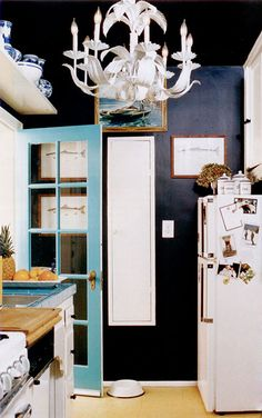 Small Colourful Kitchen | from Domino photo Melanie Acevedo | @House & Home