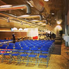 De zaal van #cpo036 wacht geduldig op zijn bezoek #Almere #AlmerePoort #CPO #Plankostenfonds