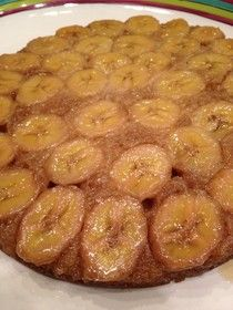 Paleo Perfectly: Paleo Banana Upside-down cake. Made butter pecan (coconut cream) ice cream to go on top.  Very good.