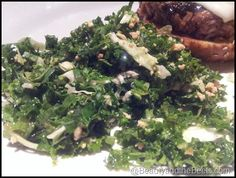 Houston's Kale Salad with Peanut Dressing - doesn't sound just like it but still sounds good...