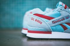 Reebok drops a refreshing new look for the GL 6000 in a 'Cool Breeze' colorway that will make you say, 'Ahh!'