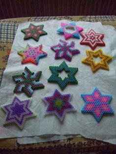 Stars hama perler by aline582