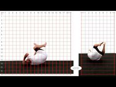 Forward Roll: Larger Male: Grid Overlay - Animation Reference - YouTube