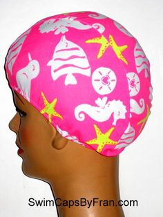 47c4383b288 Day At The Beach Toddler Lycra Swim Cap Swim Caps, Toddler Hair, African  American