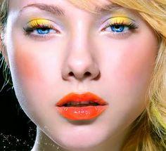 Spring makeup, colorful eye makeup, yellow and orange makeup Makeup Art, Makeup Tips, Beauty Makeup, Eye Makeup, Hair Makeup, Hair Beauty, Makeup Ideas, Yellow Makeup, Yellow Eyeshadow