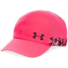 Under Armour Adjustable-Strap Cap ($25) ❤ liked on Polyvore featuring  accessories,