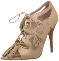Plenty By Tracy Reese Women's Zoe Open-Toe High Heel -- Discover this special product, click the image - Lace up sandals