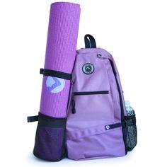 Aurorae-Yoga-Mat-Sport-Bag-Multi-Purpose-Crossbody-Sling-Backpack