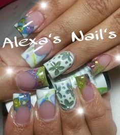 Acrylic nails by Alexa