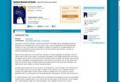 Mijn tweede boek 'Spoken Bestaan - geloof niet alles wat je denkt!' overal (online) te koop. Als papieren boek of eBook.