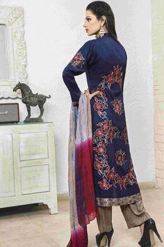 Royal Blue Linen Suit