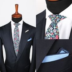 Blooming Multi Tie Love this completely look. Looks very sharp! What do you think? #GrandFrank