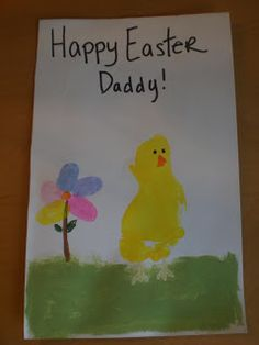 The Natural Mamma: Super Quick And Adorable Easter Craft for Toddlers