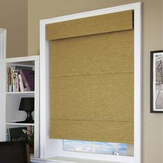 @Overstock - These natural woven cordless roman shades have all the appeal of a custom shade, but now in premade sizes and a cordless operation. These shades are very economical, and because thay are cordless they are perfect for the nursery or kids room.http://www.overstock.com/Home-Garden/Chicology-Cordless-Jamaican-Antique-Gold-Mag-Roman-Shade/7901514/product.html?CID=214117 $27.99