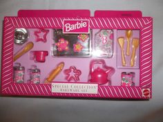 1997 Barbie Special Collection Bakeware Set Free Shipping in USA | eBay