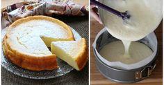 Luftiger Käsekuchen aus nur 3 Zutaten - so geht's!