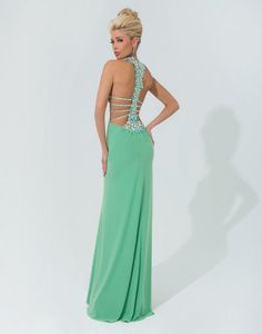Tony Bowls Paris 114715 prom dress available in Green; Turquoise;