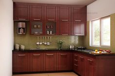 Buy Daintree L-Shaped Modular Kitchen from Capricoast. Kitchen Shelf Design, Kitchen Cupboard Designs, Kitchen Cabinets Decor, New Kitchen Interior, Home Decor Kitchen, Home Kitchens, Kitchen Ideas, Kitchen Shelf Inspiration, L Shaped Modular Kitchen