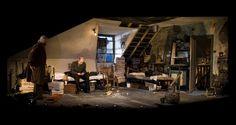 The Caretaker. Citizens Theatre Glasgow. Scenic design by Max Jones.