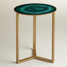 One of my favorite discoveries at WorldMarket.com: Emerald Harbin Accent Table
