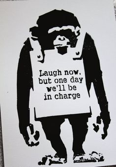 ain't it the truth....   #BanksyArt