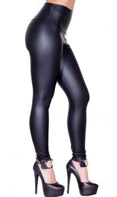 High Waisted Faux Leather Leggings in Black $16.99 http://www.amazon.com/gp/product/B00R4275U0/ref=as_li_qf_sp_asin_il_tl?ie=UTF8&camp=1789&creative=9325&creativeASIN=B00R4275U0&linkCode=as2&tag=wwwthebestnik-20&linkId=ODEGY6JS6QBOWPAH