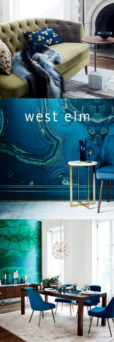 For a home that shines. Express your style with furniture + décor from west elm. We love the way you live. #westelm