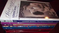 LOT OF 5 LEANNE BANKS LOVESWEPT & DESIRE ROMANCE BOOKS BRAND NEW MINT CONDITION