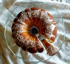 This sour cream pound cake with hints of vanilla, orange, and lemon is the perfect treat to bring to a pot luck party or give as a hostess gift. Fun Baking Recipes, Homemade Cake Recipes, Potluck Recipes, Dessert Recipes, Cooking Recipes, Potluck Food, Dessert Ideas, Easy Desserts, Delicious Desserts