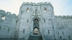 Caernarfon Castle, Snowdonia, Wales