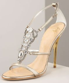 Giuseppe Zanotti Jeweled Strappy Sandals