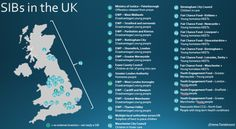 UK SIB map