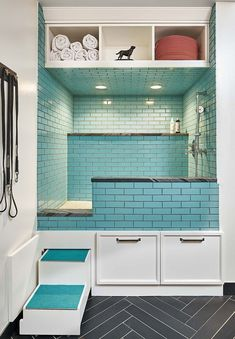 (paid link) Looking for a Dog Bathing Station?Get the cheapest Dog Bathing will get you Bathing your best friends in astonishing dog tubs in no time! #dogbathingstation Mudroom Laundry Room, Laundry Room Remodel, Laundry Room Design, Dog Bathing Station, Küchen Design, House Design, Clean Design, Interior Design, Puppy Room