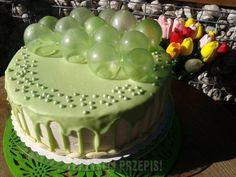 Cake Mascarpone, 60th Birthday Cakes, Food Decoration, Cream Cake, Food Art, Tiramisu, Party Time, Cake Recipes, Cake Decorating