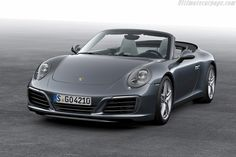 Porsche unveiled the new 911 Carrera 2017 with new turbocharged engine and an advanced chassis. Images credit Porsche The 2017 Porsche 911 Carrera has some… Porsche 911 Cabriolet, Porsche Panamera, Carros Porsche, Porsche Autos, Porsche Cars, Porsche Carrera Gt, Ferdinand Porsche, Cayman Porsche, 4x4