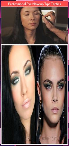 Professional Eye Makeup Tips Tactics Simplify eye makeup application and learn how to do eye makeup with fail-safe eyeliner tips, Highlighter Makeup, Makeup Application, Eye Makeup Tips, Eyeliner, Make Up, Eyes, Illuminator Makeup, Mac Makeup Application, Face Makeup