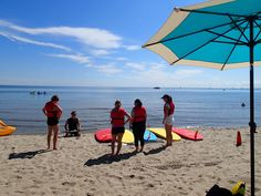 Stand up Paddle board lessons! Easy to learn & addictive! Classes run weekly. Burlington Beach Rentals