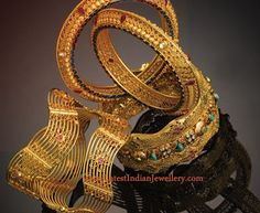 Gold Bangles Designs