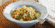 Salada de trigo em grão
