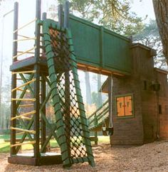 looking for climbing structure ideas for older kids....