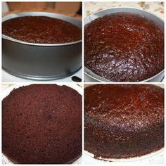 Nydelig, saftig enkel å lage sjokoladekake – Spiselise Marshmallow Fondant, Chocolate Cake, Tiramisu, Food And Drink, Pudding, Cookies, Baking, Ethnic Recipes, Desserts