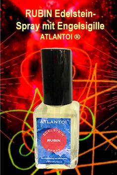 Als besonderes Geschenk gibt es für kurze Zeit zu einem ATLANTOI® RUBIN Edelstein-Spray und als Geschenk ein Engelsymbol, durch das die Edelsteinenergien magisch verstärkt werden. Der ATLANTOI® RUBIN Edelstein-Spray ist auch sehr beliebt als persönliches Geschenk. #Edelstein Rubin, #Edelstein-Spray, #Symbol, #Edelstein-Energien, #Sigillen, #magisch, #Engel, #Geschenk Perfume Bottles, Beauty, Special Gifts, Rhinestones, Knowledge, Life, Group, Popular, Products