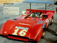 1969 F e r r a r i 6 1 2 Laguna Seca Chris Amon