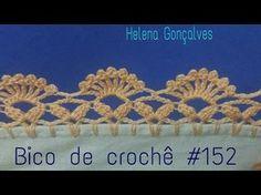 Bico de crochê repetição do #64 (melhor imagem) - YouTube