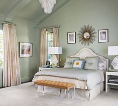 Paint - Benjamin Moore October Mist Glamour Style in a Comfortable And ...