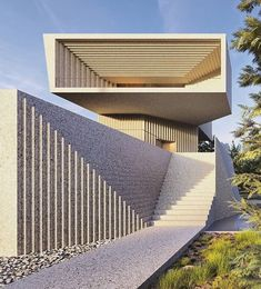The bellow house Can brutal be elegant? Concrete Architecture, Space Architecture, Residential Architecture, Amazing Architecture, Facade Design, Exterior Design, House Design, House Landscape, Concrete Design