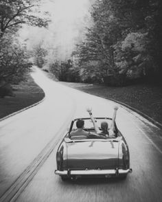 wanderlust, driving, vehicle, transportation, freedom, road, street, curve, street, symbolic, photograph, photo b/w.