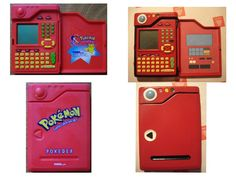 An old Tiger brand Pokedex from the late with a more detailed paint job. Pokedex before and after Nintendo Consoles, Pokemon, Cosplay, Deviantart