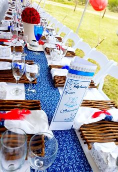 Tswana shweshwe traditional wedding at Barberton African Wedding Theme, African Wedding Dress, African Theme, African Weddings, African Dress, Royal Blue Wedding Decorations, Gazebo Wedding Decorations, Table Decorations, Zulu Traditional Wedding